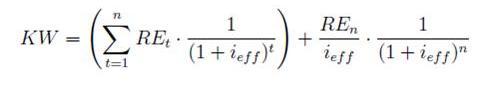 DCF-Formel